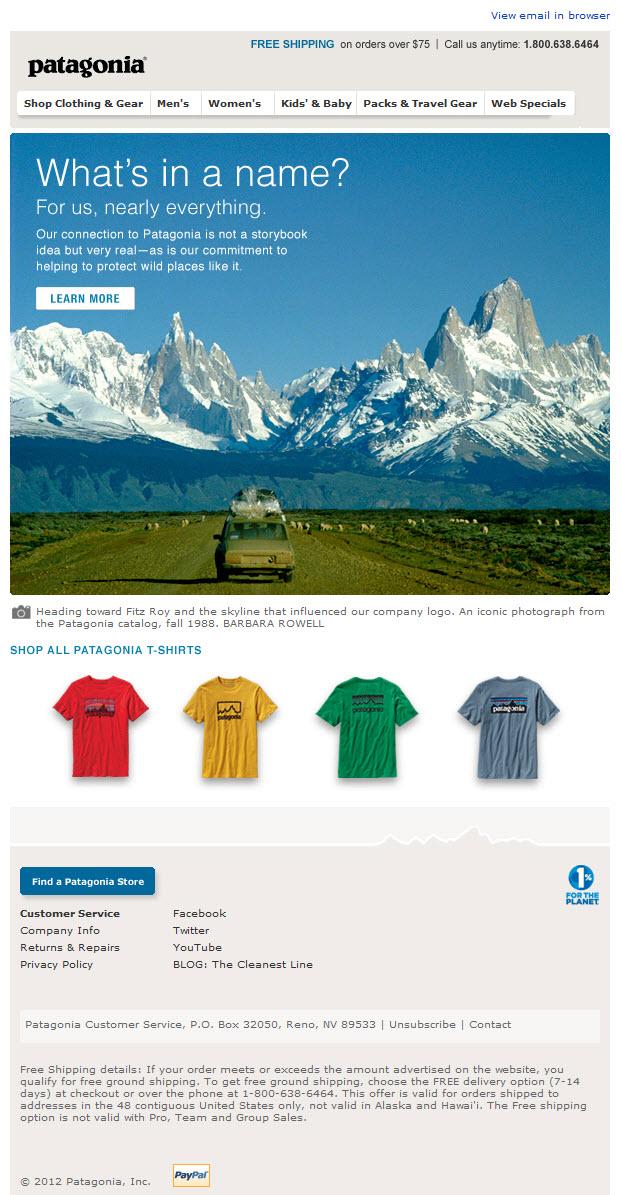 patagonia customer service