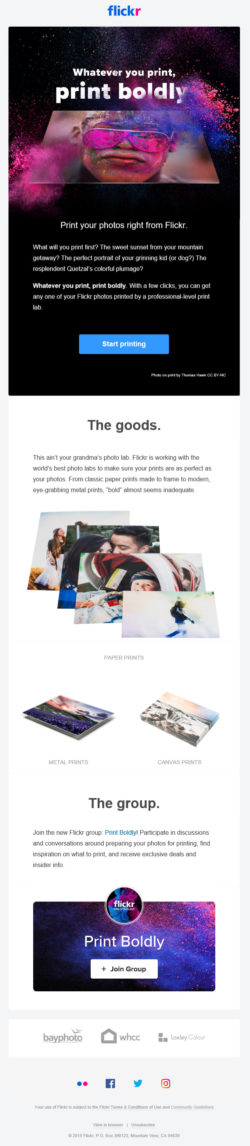 flickr – What will you print first?