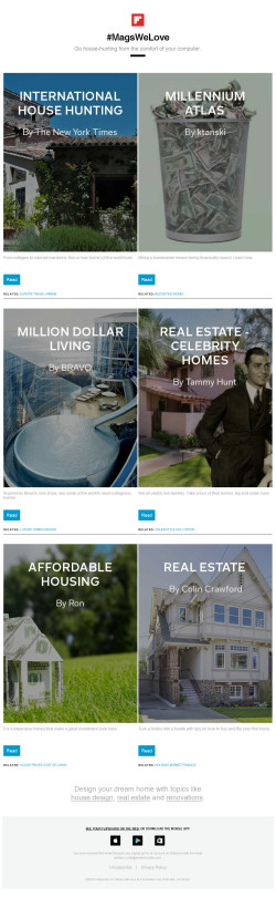 Flipboard #MagsWeLove: Real estate resources