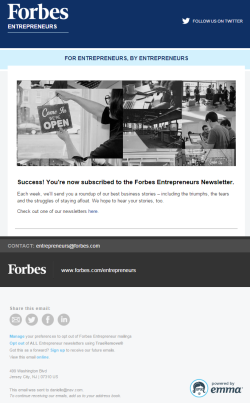 Forbes Newsletter 2015
