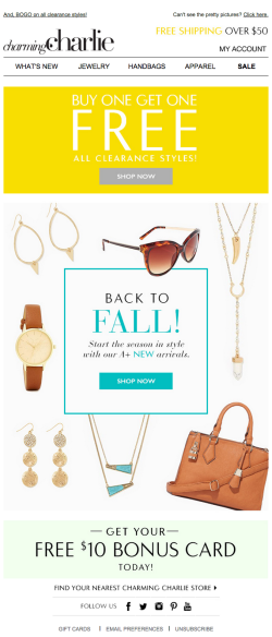CharmingCharlie fall email 2015