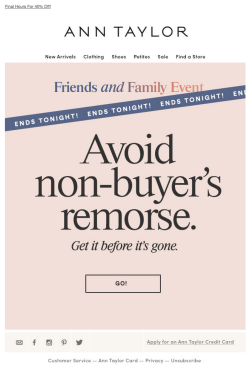 Ann Taylor family & friends email 2015
