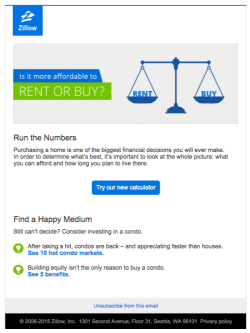 Zillow rent or buy? email 2015