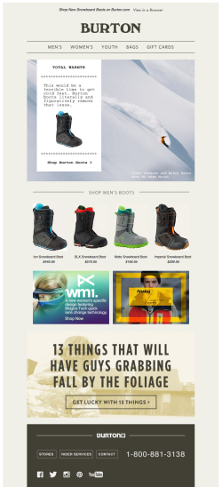 REI email