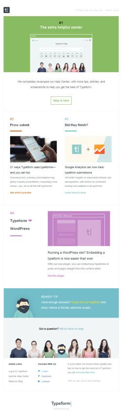 Typeform Roundup
